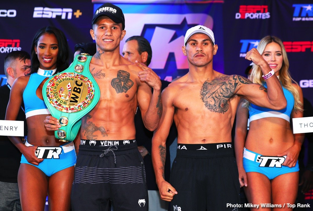 Miguel Roman - On the heels of an active boxing weekend, the schedule for this upcoming Saturday is jammed-pack with action. Miguel Berchelt versus Mickey Roman promises to be a barnburner. The quarterfinals of the World Boxing Super Series continues, next on tap is the junior welterweight and bantamweight divisions. At 140, Josh Taylor returns to face Ryan Martin, both men are unbeaten. For the bantamweights, Ryan Burnett meets former pound-for-pounder Nonito Donaire.