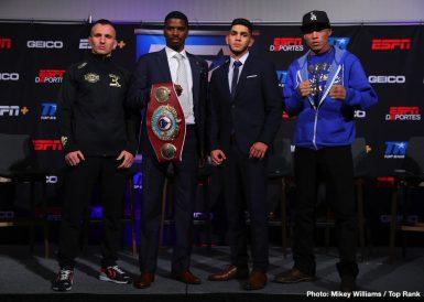 Alex Saucedo Maurice Hooker Boxing News Top Stories Boxing