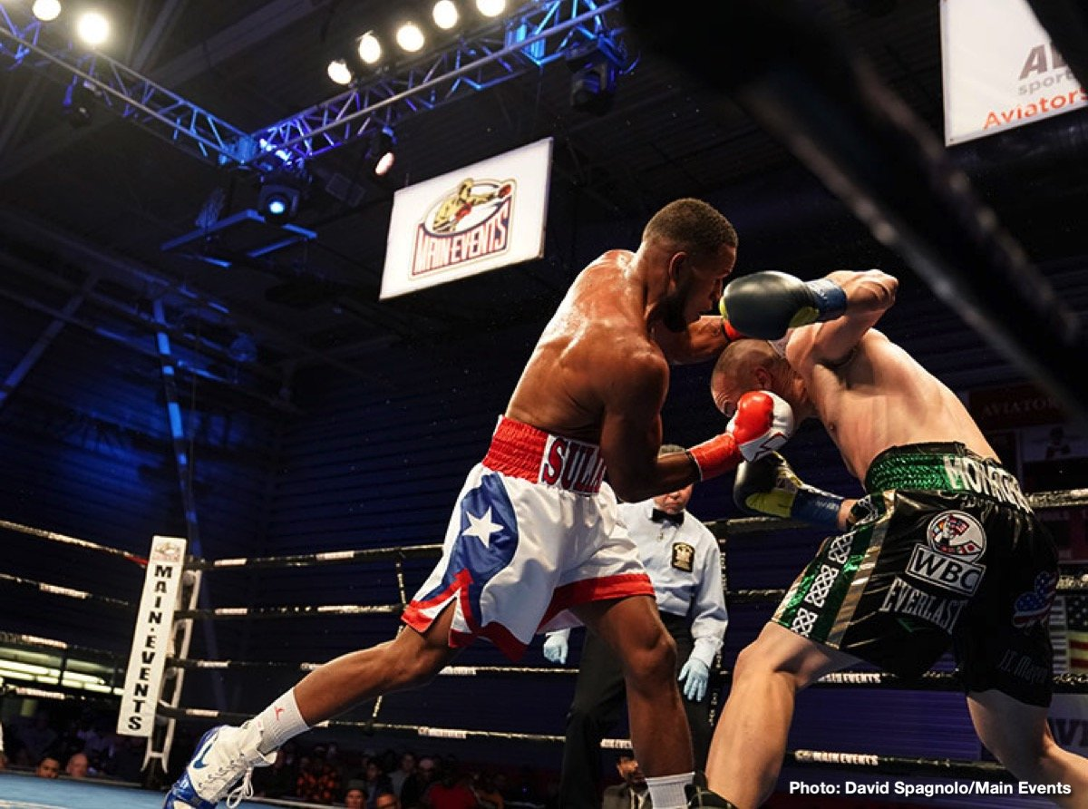 Seanie Monaghan Sullivan Barrera Boxing News Boxing Results