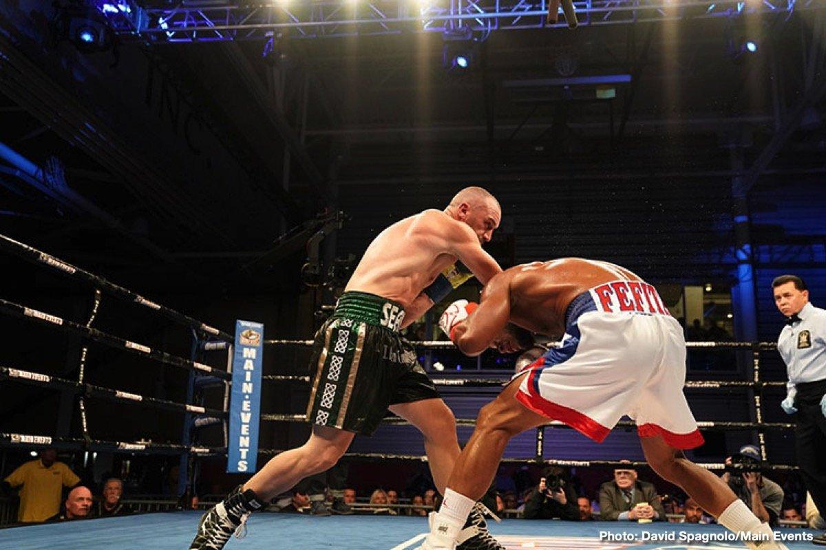Seanie Monaghan Sullivan Barrera Boxing News Boxing Results