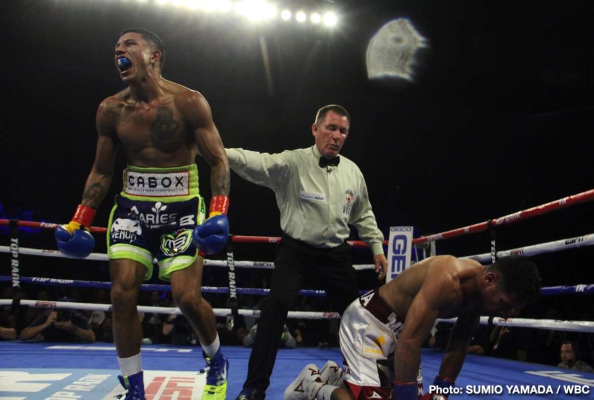 Miguel Berchelt Miguel Roman Boxing News Boxing Results
