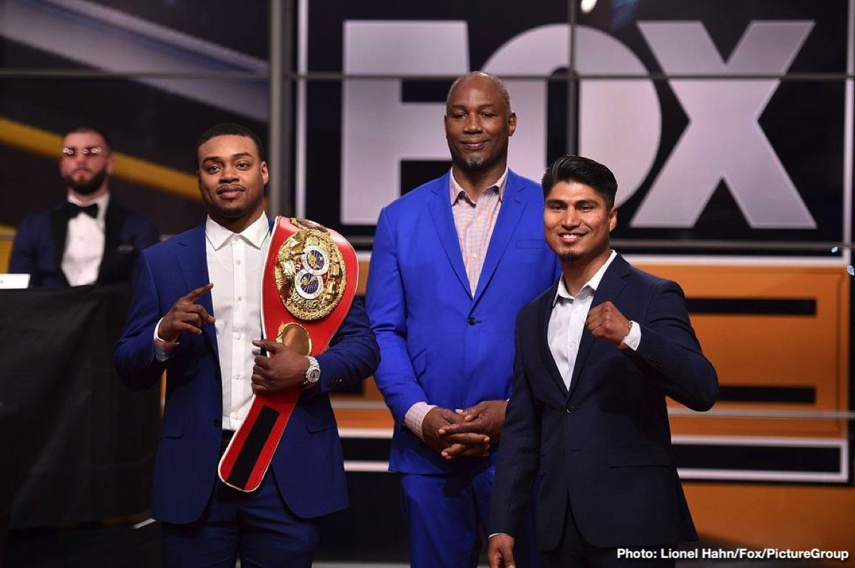 "Mikey Garcia - The heavyweight division aside, who is the biggest star of the sport today? Maybe it's Canelo Alvarez, maybe it's Gennady Golovkin, maybe in your opinion it's some other fighter. But one man who says he fully expects to break out and become the next superstar of boxing in 2019 is current IBF welterweight champ Errol Spence. Spence has that look about him, that quality the special fighters have, and ""The Truth"" says that after he makes good on his plan of ""destroying"" Mikey Garcia next March, he will indeed become the next big thing of boxing."
