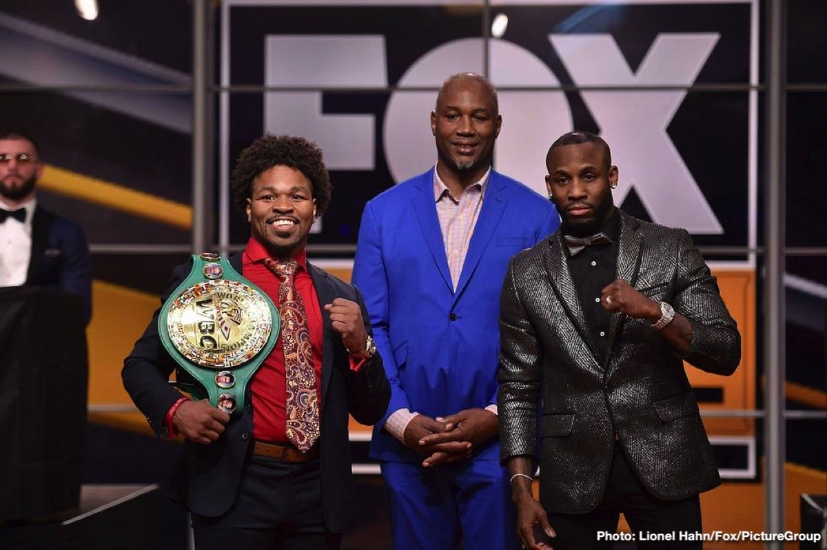 Shawn Porter Yordenis Ugas Boxing Interviews Boxing News