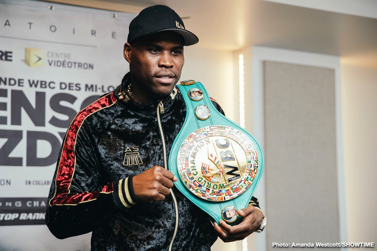 Adonis Stevenson - Boxing's longest reigning world champion, Adonis Stevenson, and undefeated, mandatory challenger Oleksandr Gvozdyk made weight Friday just one day ahead of Stevenson's 10th defense of his WBC Light Heavyweight Title in a SHOWTIME BOXING: SPECIAL EDITION telecast Saturday, December 1 from Videotron Center in Quebec City.