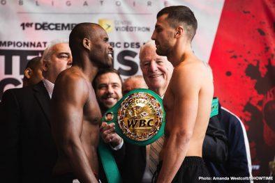 Adonis Stevenson Oleksander Gvozdyk Boxing News