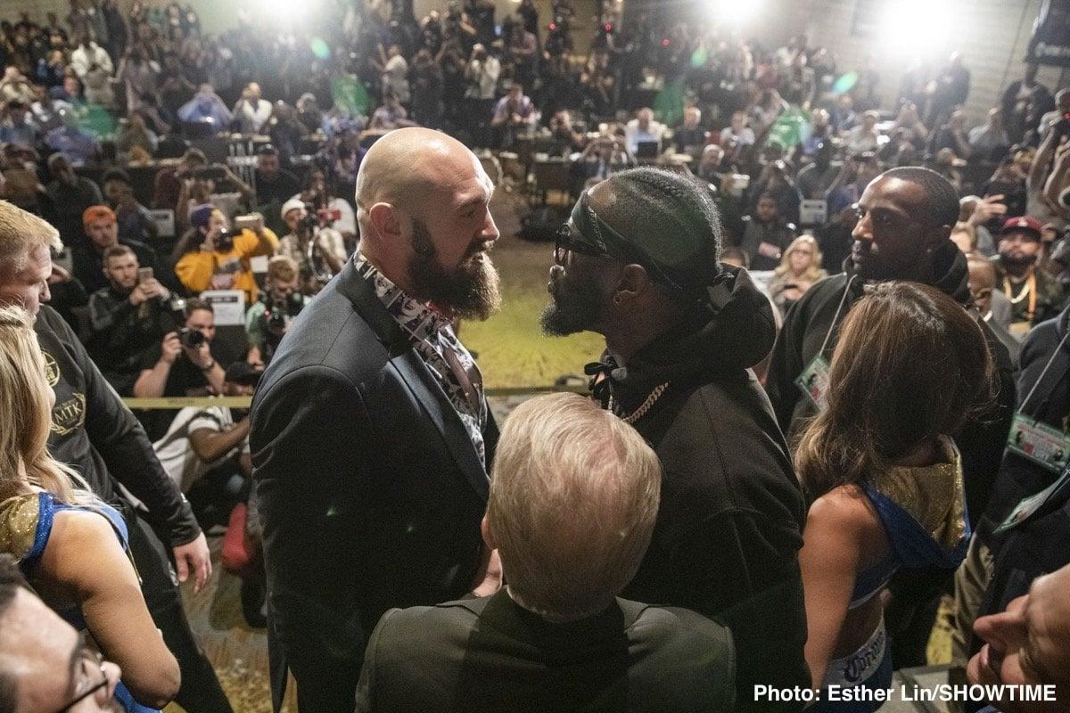 "Deontay Wilder Saul ""Canelo"" Alvarez Tyson Fury Boxing News"