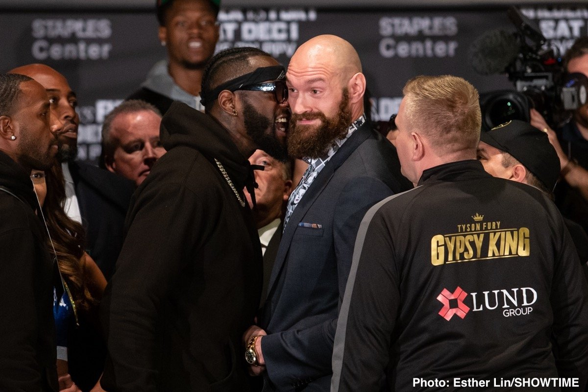 Deontay Wilder, Tyson Fury - Tyson Fury is very well versed in boxing history.  His fight with Deontay Wilder tonight brings to mind several apposite historical parallels.  To start with, it is 3 years from the day since he confounded expectations by beating Wladimir Klitschko in Germany.  Equally prominent in his thoughts will be the great boxing comeback stories, one of which he mentioned himself recently, namely Ray Leonard's triumph over Marvin Hagler.  Like Fury, Leonard had dabbled with drugs during his absence from the ring and even disdained the idea of a warm up fight before ascending two weight classes to face the dominant middleweight champion of that era.  This is not a flawless comparison, but it does at least demonstrate that the greats can get away with a lack of practice.