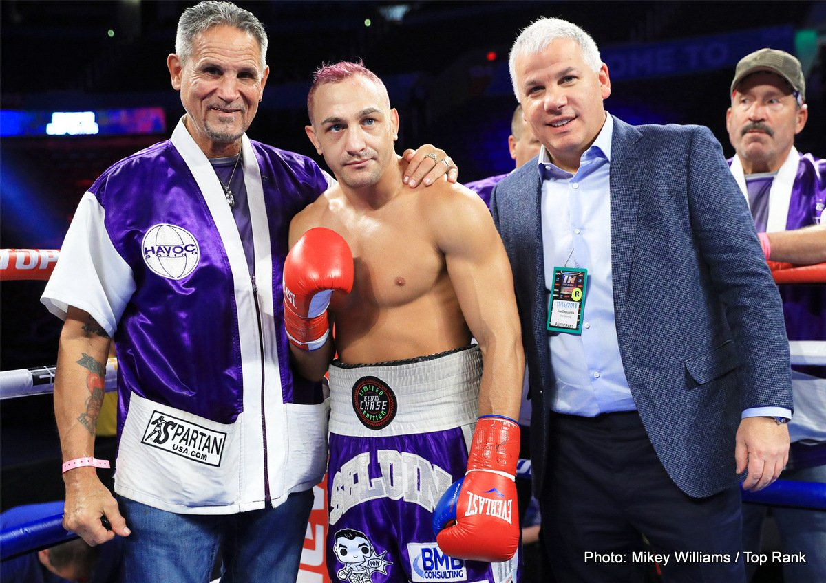 Anthony Laureano Cletus Seldin Boxing Results Press Room