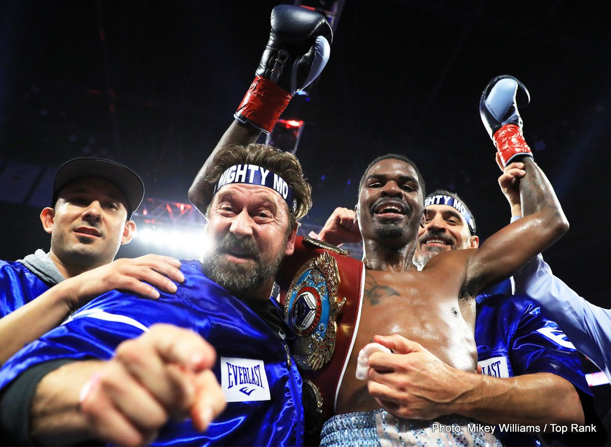 "Alex Saucedo - Maurice ""Mighty Mo"" Hooker (25-0, 17 KOs) successfully defended his WBO junior welterweight world title in his return to the ring on Friday night, toppling Alex Saucedo (28-1, 18KOs) via a seventh-round TKO in Saucedo's hometown at the Chesapeake Energy Arena in Oklahoma City."