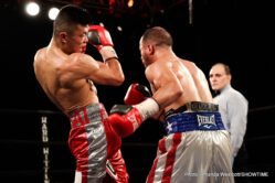 Jaron Ennis, Raymond Serrano -  Undefeated welterweight Jaron Ennis electrified his hometown crowd with a devastating second-round knockout of Raymond Serrano in the main event of ShoBox: The New Generation in front of a standing-room only crowd at 2300 Arena in Philadelphia.