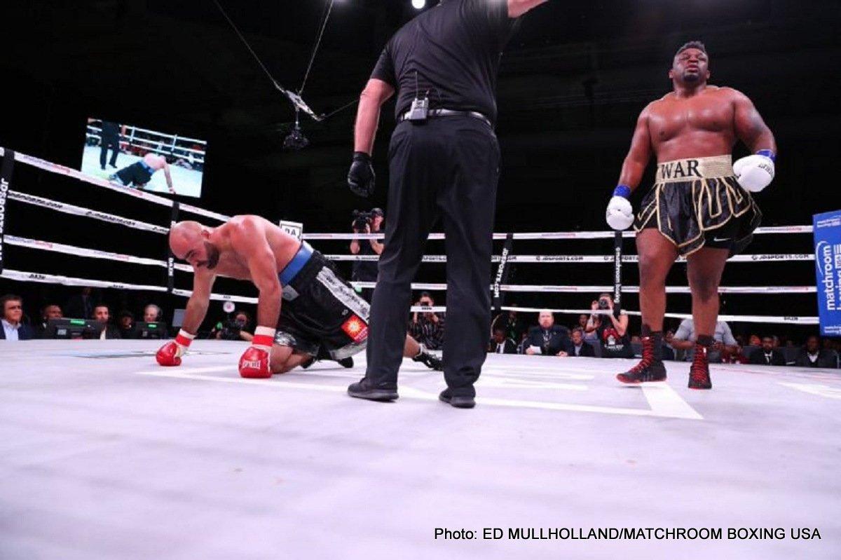 """Bogdan Dinu Jarrell """"Big Baby"""" Miller Boxing News"""