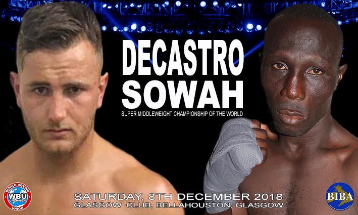 Daniel Adjei Sowah Nathan DeCastro British Boxing Press Room