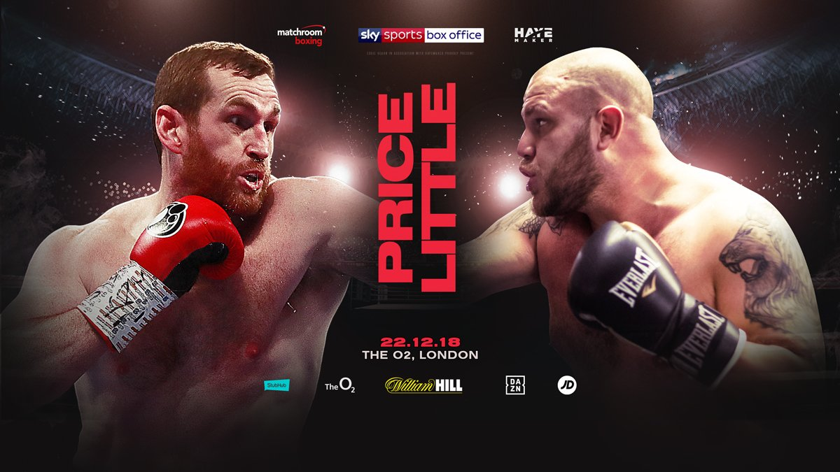 David Price, Tom Little - David Price is desperate to taste victory again after suffering back-to-back defeats against Russia's Alexander Povetkin and Sergey Kuzmin.