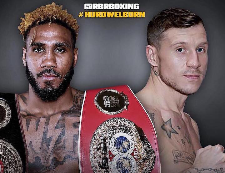 """Swift"" Jarrett Hurd Jason Welborn British Boxing Press Room"