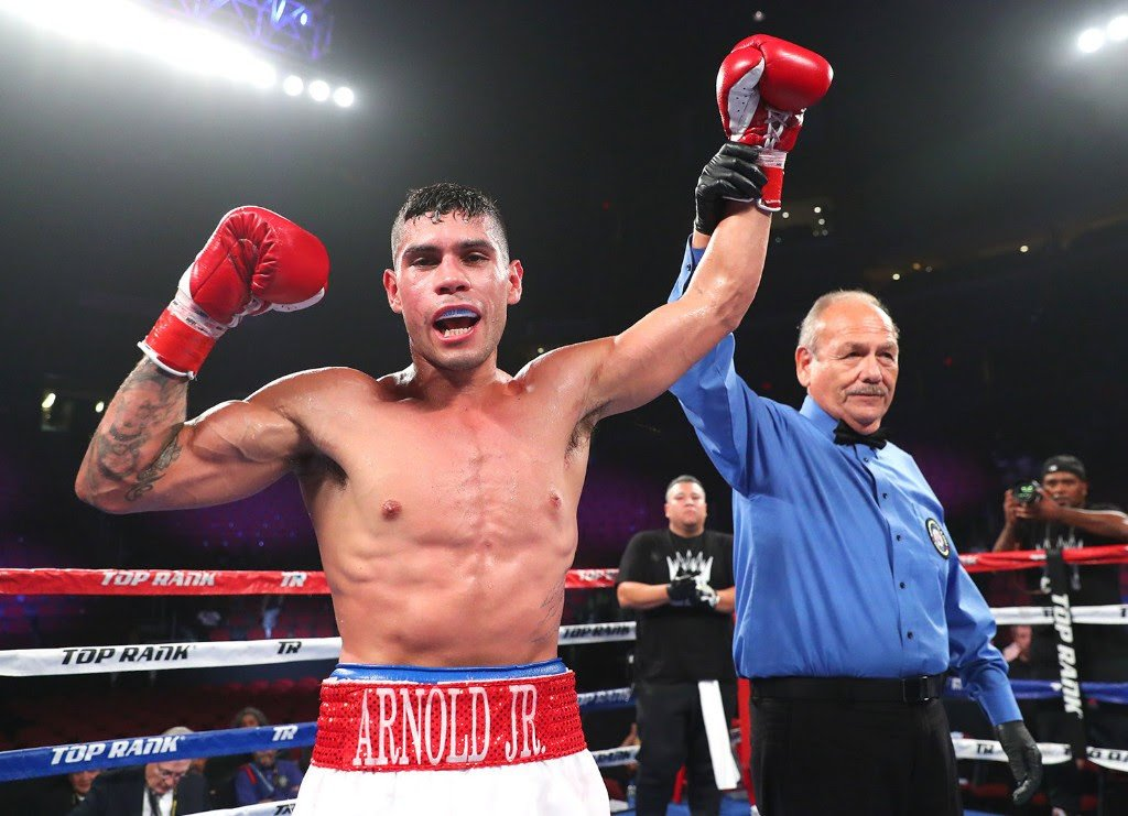 - Arnold Barboza Jr. is hungry for a 140-pound world title shot. The Los Angeles native, who has fought all but one of his 19 professional bouts in California, will head to Texas intent on staking his claim as one of the division's top contenders.