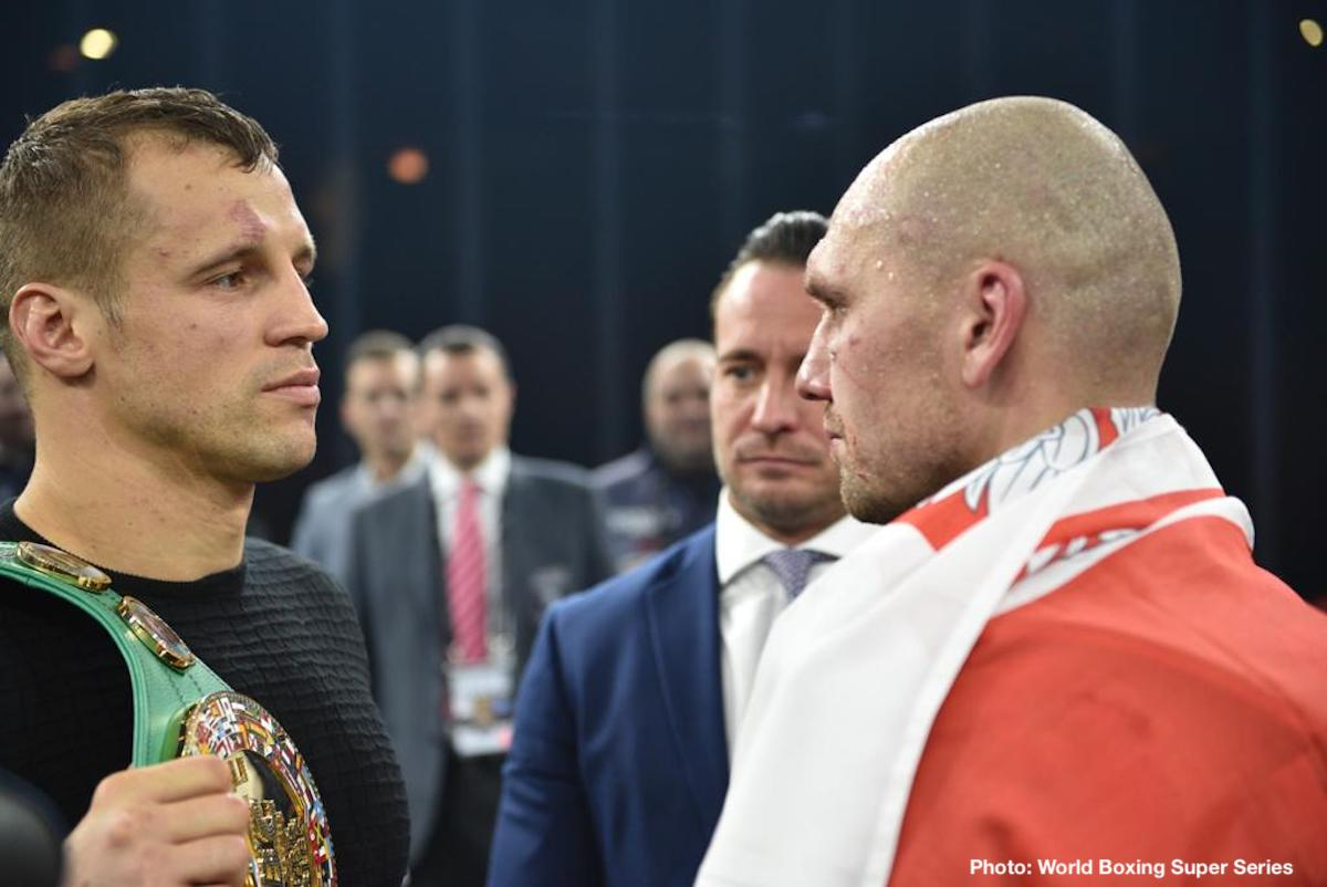 Krzysztof Glowacki Mairis Briedis Maksim Vlasov Noel Mikaelian Boxing News Boxing Results
