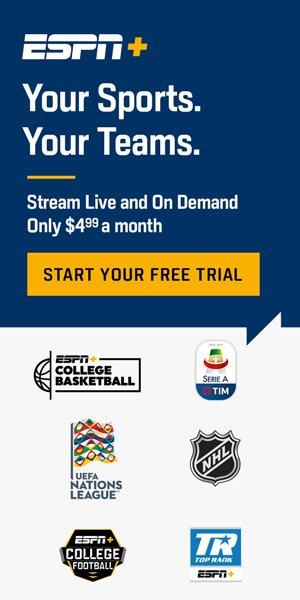 ESPN+ Free Trial!