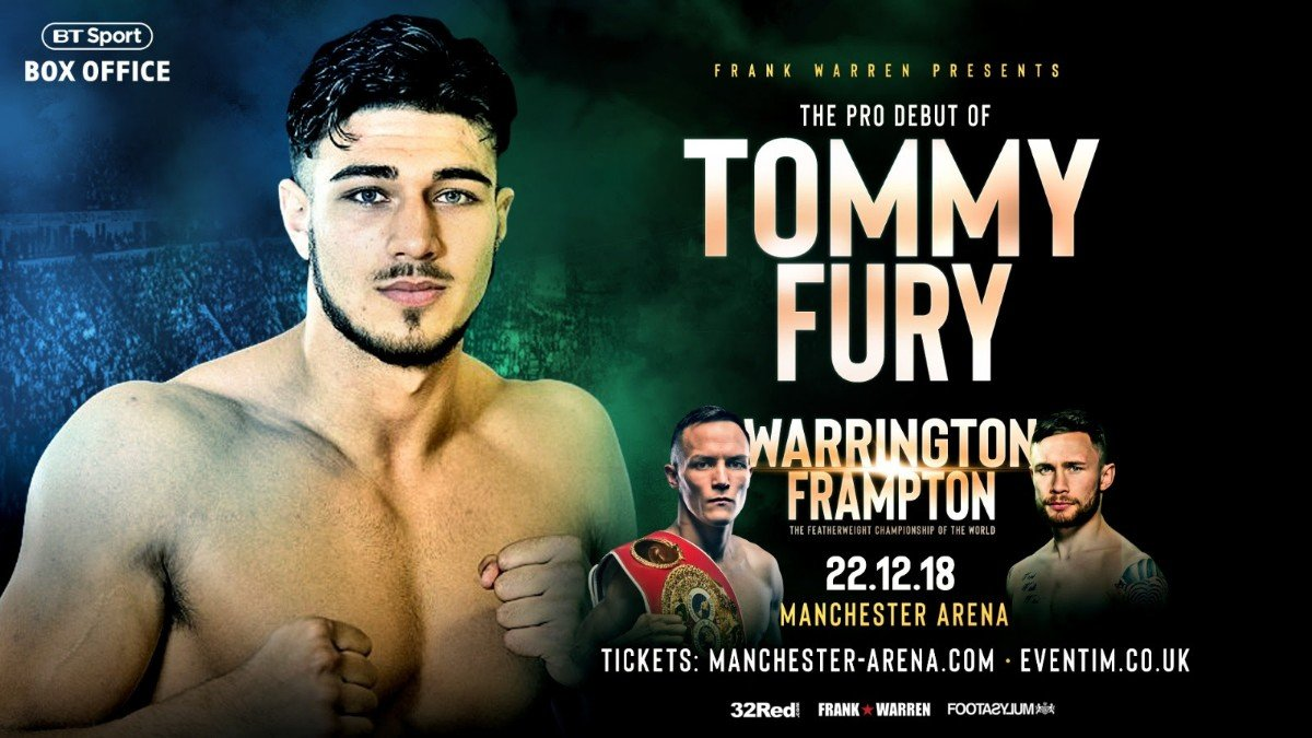 Deontay Wilder, Tyson Fury - New professional Tommy Fury is utterly convinced his brother Tyson will return from Los Angeles as the proud holder of the WBC world heavyweight title.