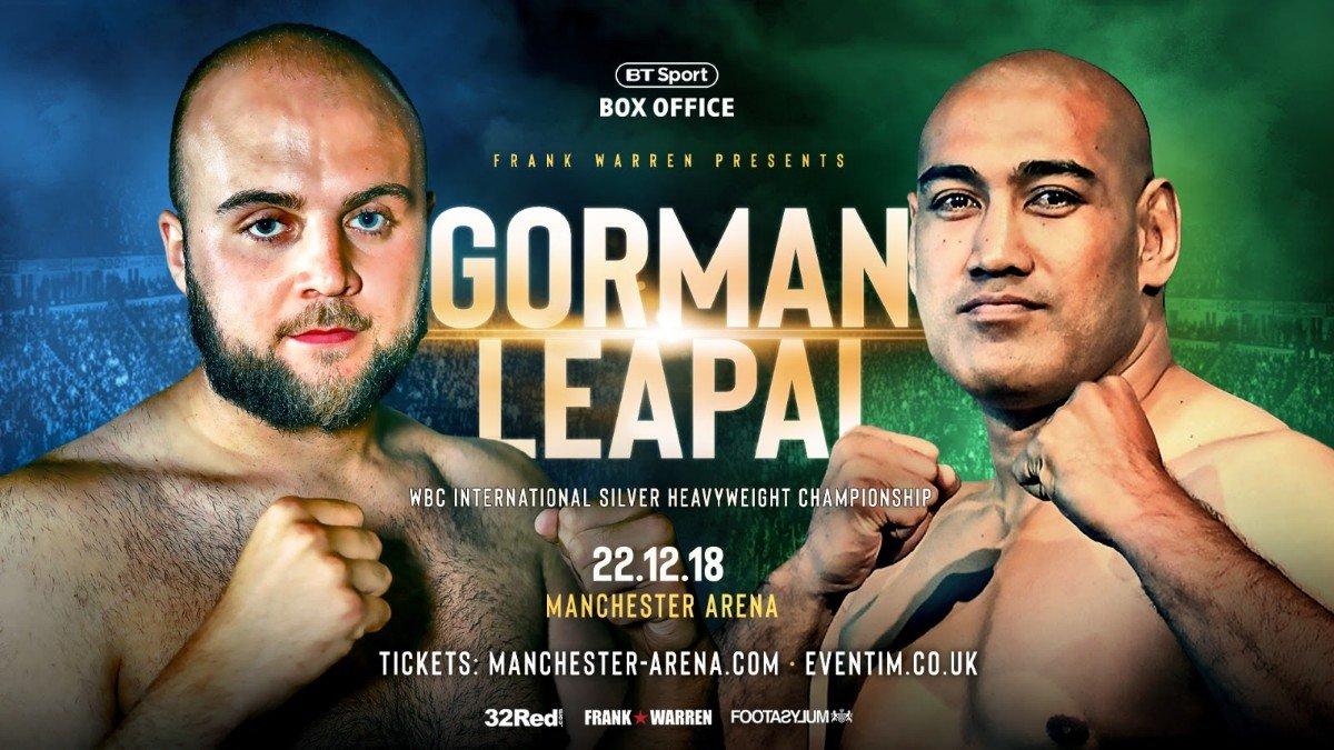 Alex Leapai Anthony Joshua Nathan Gorman Ricky Hatton Tyson Fury British Boxing Press Room