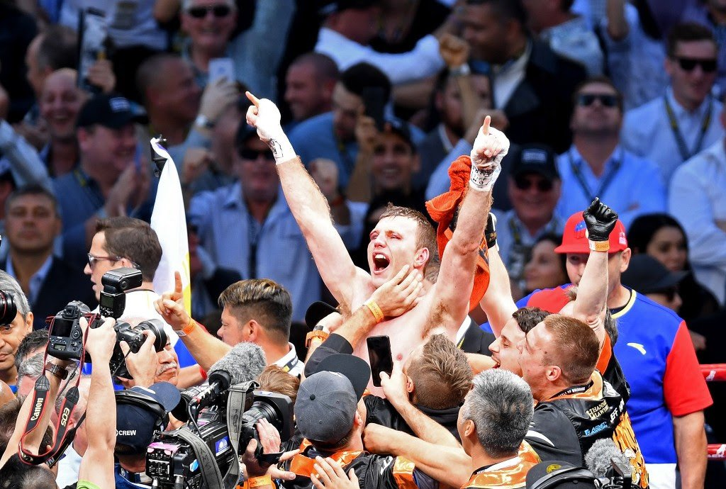 "Michael Zerafa - It was a case of revenge in Brisbane, Australia earlier today. Bloody revenge to be exact. Former WBO welterweight champ Jeff Horn, who was upset and stopped by his countryman Michael Zerafa earlier in the year, tuned the tables in a quite incredible fight. Winning the 10-rounder via majority decision, Horn defied Zerafa's vow to ""end his career."""