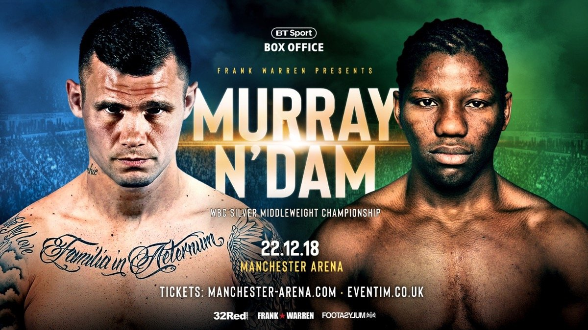 Hassan N'Dam - Martin Murray has hailed the calming influence of trainer Jamie Moore as he prepares to clash with former middleweight world champion Hassan N'Dam on Saturday.