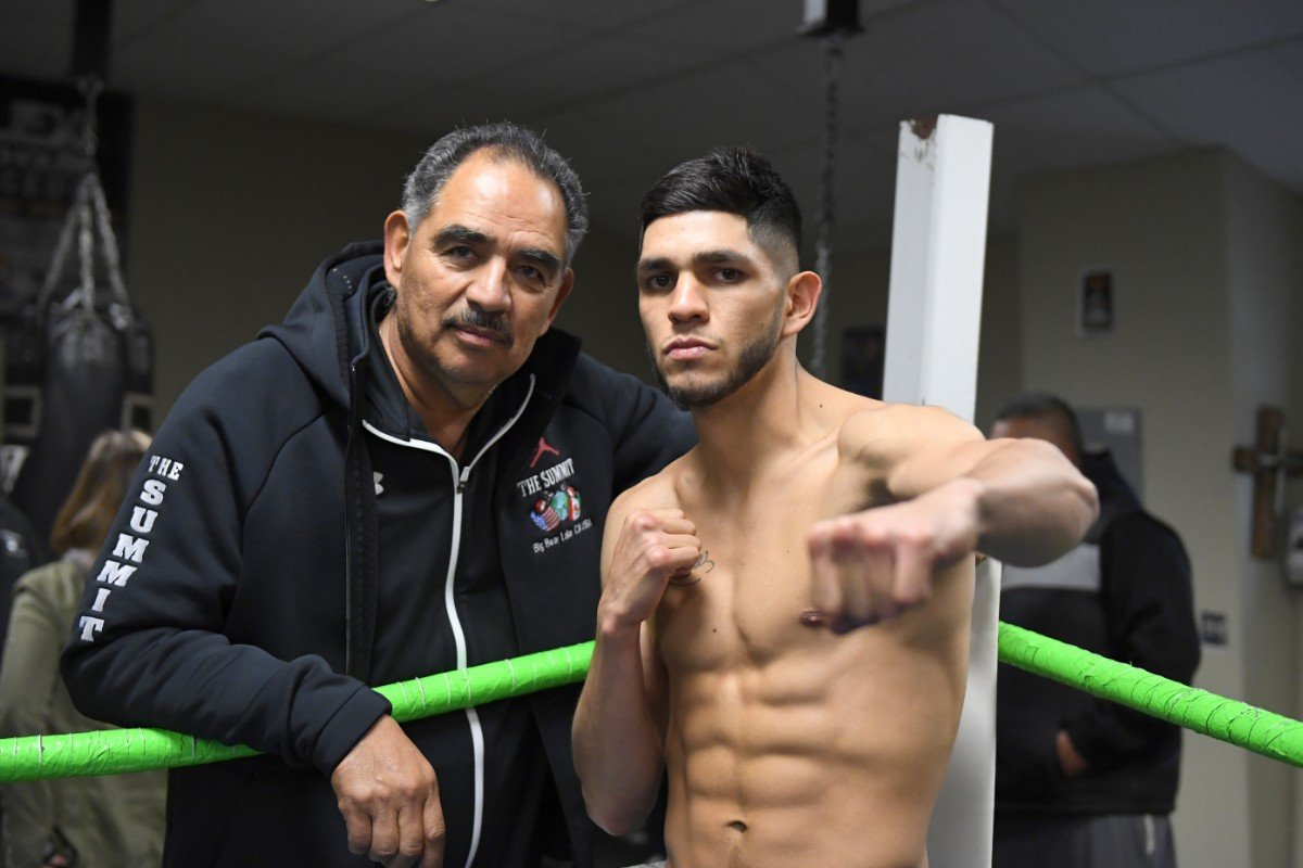 "Alex Saucedo - The ""Red River Rivalry"" — the pugilistic version — has kicked off. WBO junior welterweight champion Maurice Hooker, from Dallas, Texas, will defend his world title Friday evening against Oklahoma City native Alex Saucedo at the Chesapeake Energy Arena, home of the NBA's Oklahoma City Thunder."