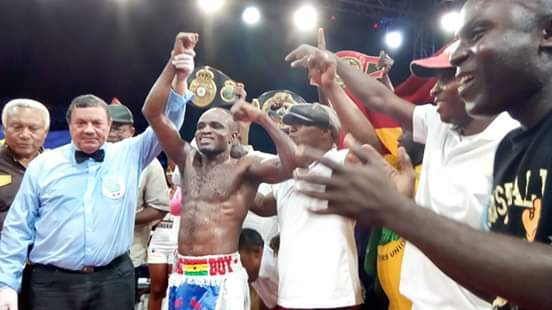 Emmanuel Tagoe - Ghanaian duo, Emmanuel 'Game Boy' Tagoe, the  WBO Africa lightweight champ  and WBO Africa junior featherweight titlist, Wasiru 'Gyata Bi' Mohammed have both made entries into the latest WBO world rankings released yesterday on the back of capturing the respective regional belts in Accra last month.