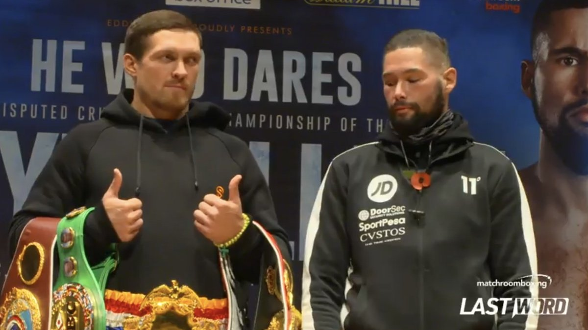 Aleksandr Usyk Tony Bellew Boxing News British Boxing