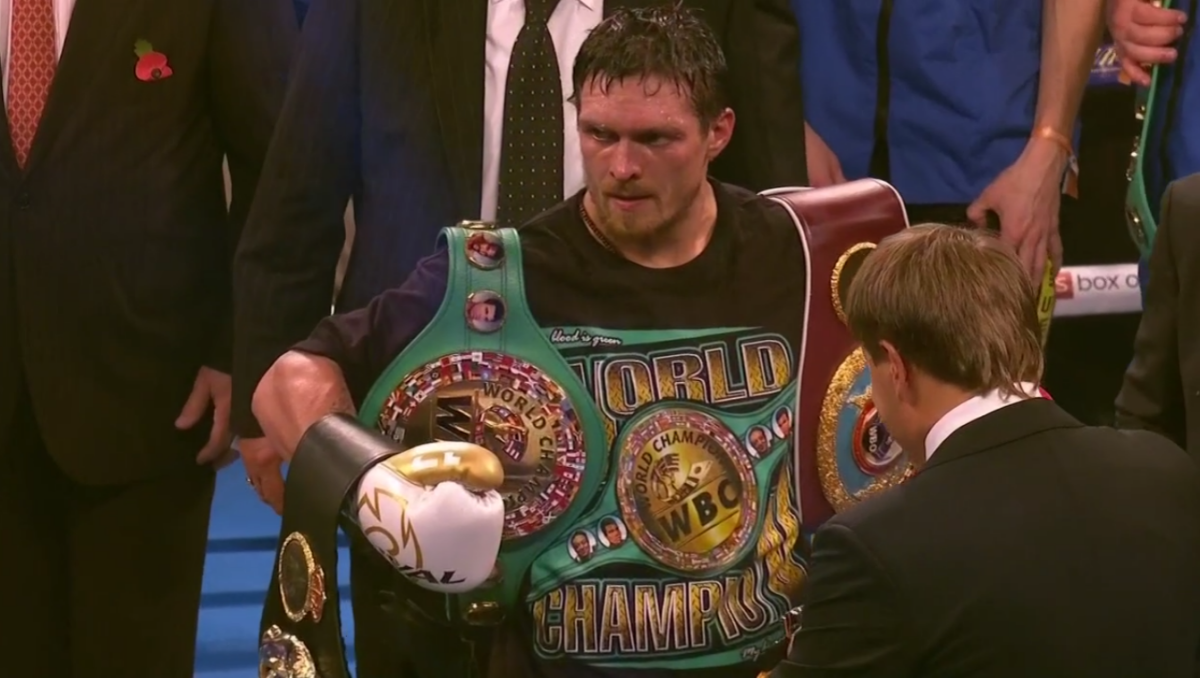 Oleksandr Usyk showed us last night why he is a highly ranked pound-for-pound fighter.  After a patient start in a pretty tense and engrossing fight, the now 16-0 southpaw unleashed his power in round-8, sensationally taking Tony Bellew out. Most experts felt Usyk would be too much for Bellew and he sure was. Now, after successfully defending his four cruiserweight titles for the first and the last time, Usyk is set to invade the heavyweight ranks.