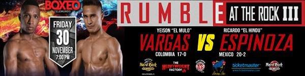 """Ricardo Espinoza Yeison """"El Mulo"""" Vargas Press Room"""
