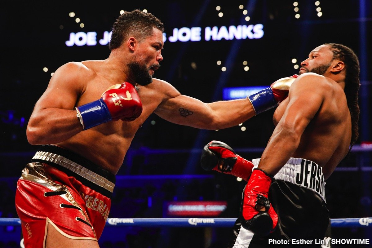 Joe Hanks Joe Joyce Boxing News Boxing Results British Boxing