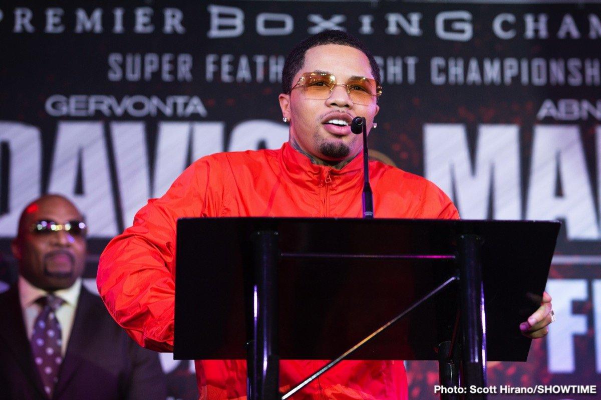 Abner Mares Gervonta Davis Boxing News
