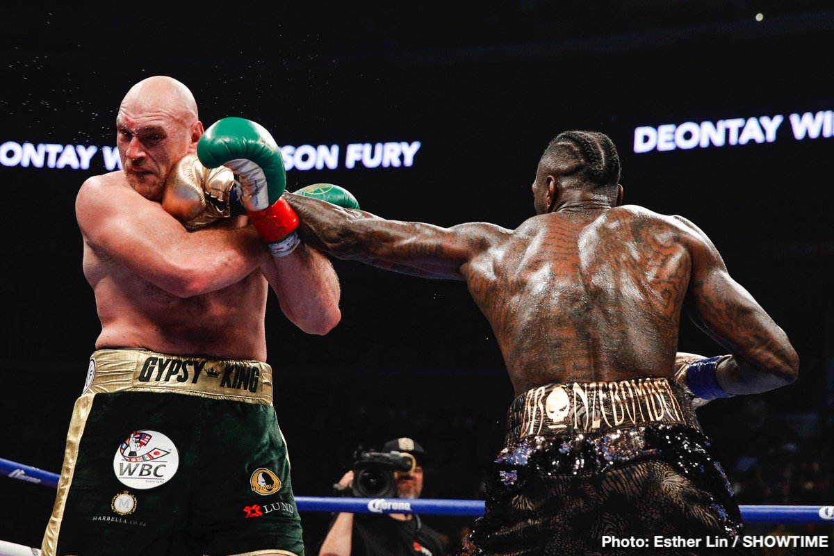 Deontay Wilder Tyson Fury Boxing News Boxing Results British Boxing