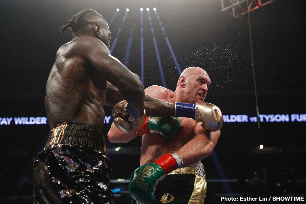 Boxen Fury Vs Wilder