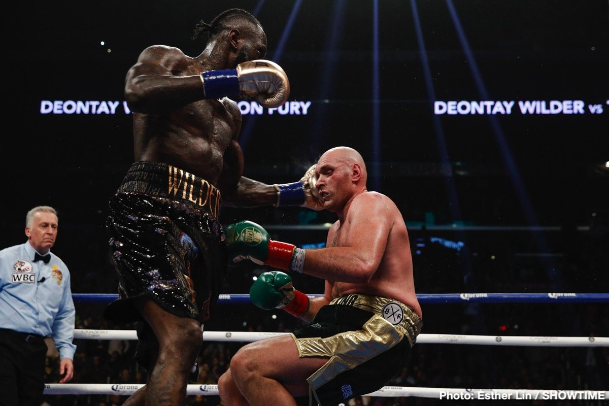 David Haye - David Haye has spoken about the time he sparred a young and relatively unknown Deontay Wilder, and as he explained to BT Sports, Hayw feels there is nothing over hyped about Wilder's punching power.