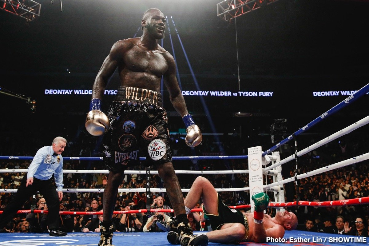 Adam Smith Deontay Wilder Tyson Fury Boxing News