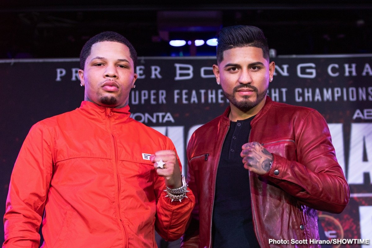 "Abner Mares, Gervonta ""Tank"" Davis - Two-time super featherweight world champion Gervonta Davis is relocating his training camp today and traveling from his hometown of Baltimore to finish camp in Los Angeles as he prepares defend his title against three-division world champion Abner Mares. Davis vs. Mares will headline a SHOWTIME CHAMPIONSHIP BOXING® tripleheader on Saturday, February 9 from Dignity Health Sports Park, formerly StubHub Center, in Carson, California and presented by Premier Boxing Champions."