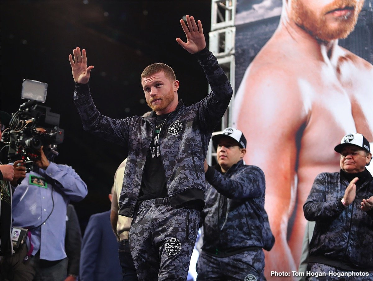 "David Lemieux Rocky Fielding Saul ""Canelo"" Alvarez Tureano Johnson Boxing News British Boxing"