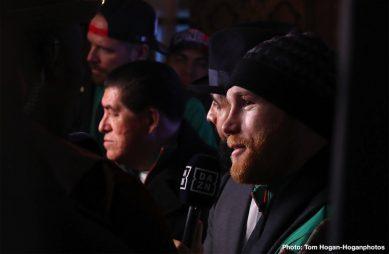 "David Lemieux Rocky Fielding Saul ""Canelo"" Alvarez Tureano Johnson Boxing News"