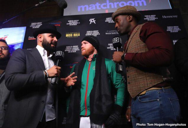 "David Lemieux, Rocky Fielding, Saul ""Canelo"" Alvarez, Tureano Johnson - Boxing News"