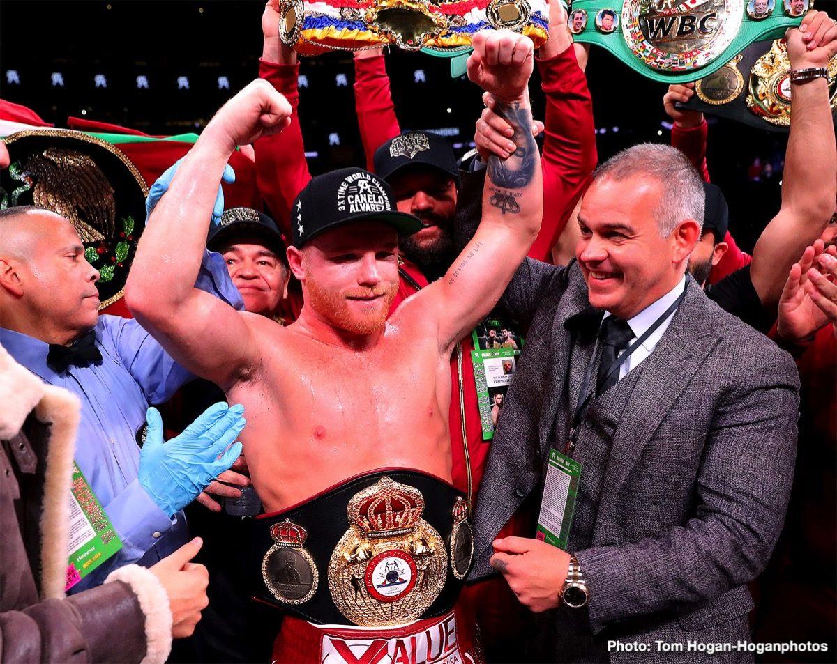 "Saul ""Canelo"" Alvarez Boxing News"