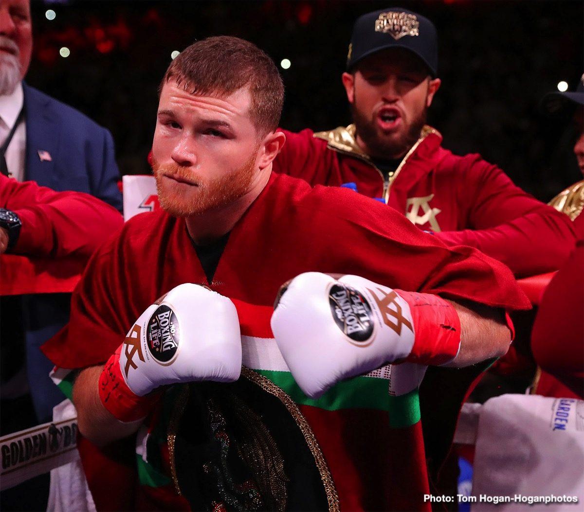 "Callum Smith Saul ""Canelo"" Alvarez Boxing News British Boxing"