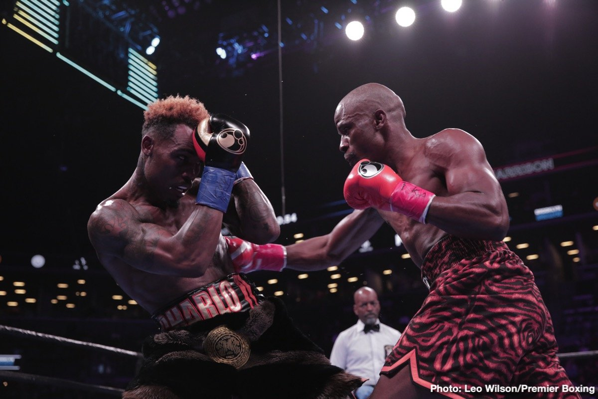 Jermell Charlo - Former WBC junior middleweight champion Jermell 'Iron Man' Charlo (32-1, 16 KOs) will be looking to win back his title in a rematch against WBC 154-lb champion Tony Harrison (28-2, 21 KOs) on December 1 on PBC on Fox at the Toyota Center  in Ontario, California.