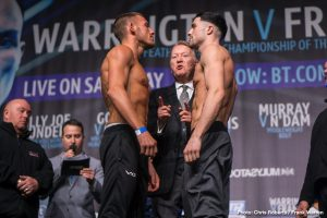 Carl Frampton Josh Warrington Boxing News British Boxing
