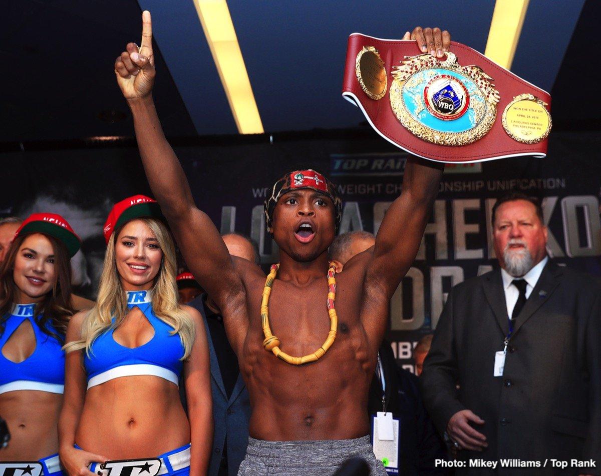 Emanuel Navarrete Isaac Dogboe Boxing News