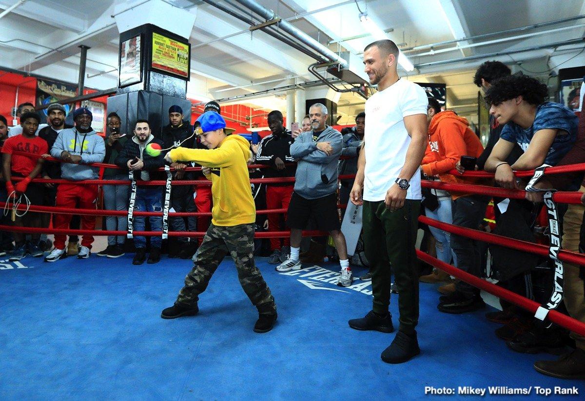 Isaac Dogboe Jose Pedraza Teofimo Lopez Vasyl Lomachenko Boxing News Top Stories Boxing