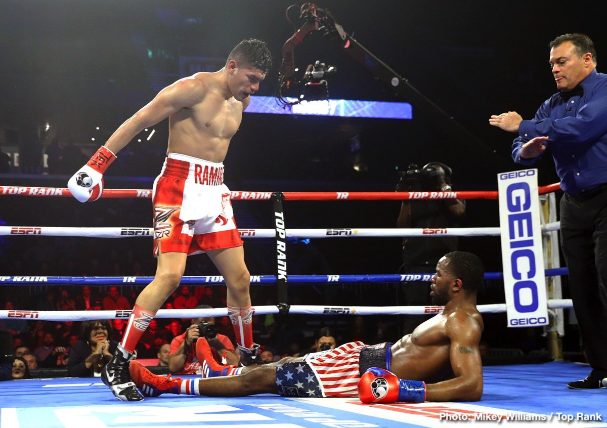 270189dca56 RESULTS  Gilberto Ramirez decisions Jesse Hart — Boxing News   Views