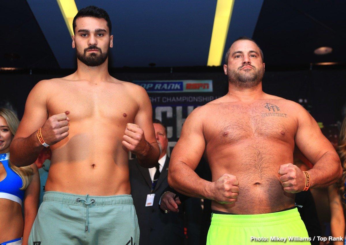 Mason Menard Teofimo Lopez Boxing News