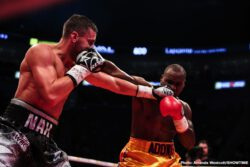 Adonis Stevenson, Oleksandr Gvozdyk - Adonis Stevenson's five-and-a-half-year reign as the WBC Light Heavyweight Champion is over. Oleksandr Gvozdyk dethroned boxing's longest reigning champion with a devastating 11th round knockout Saturday in Quebec City in a SHOWTIME BOXING: SPECIAL EDITION telecast that immediately preceded the Deontay Wilder vs. Tyson Fury SHOWTIME PPV.