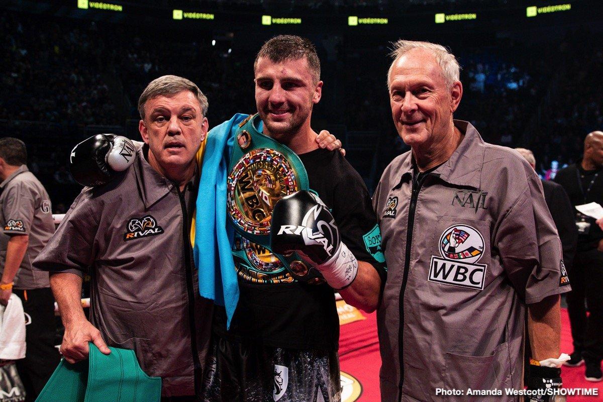 Adonis Stevenson Oleksandr Gvozdyk Boxing News Boxing Results